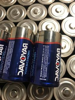 "D Cell Batteries 40 Rayovac ""D"" Cell Alkaline Batteries Exp"