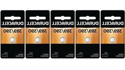 Duracell D389/390PK Watch/Electronics Battery, 1.5 Silver Ox