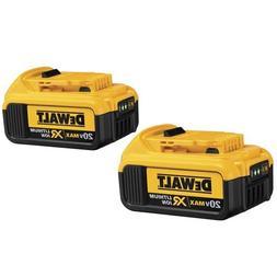 Dewalt DCB204-2 20V MAX XR 4 Ah Lithium-Ion Battery