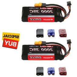 Venom DRIVE LiPo Battery 2S 7.4V 2000mAh 35C w/ Universal 2.
