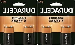 Duracell 9V Alkaline Batteries Exp. 2022 4 Pack