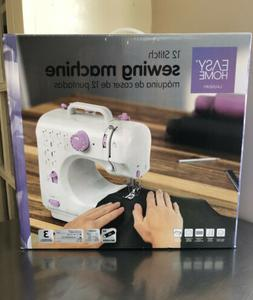 Easy Home 12 Stitch Sewing Machine 17922 Battery Operated /