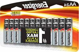 Energizer AA Batteries , Double A Max Alkaline Battery – P