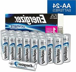 Energizer AA Lithium Batteries, World's Longest Lasting Doub