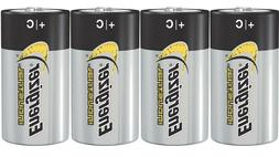 Energizer C Alkaline Industrial Batteries, Box Of 12