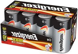 Energizer Max E95fp-8 D Alkaline Batteries 8 Pack