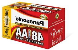 Panasonic Energy Corporation LR6PA/48PC Alkaline Plus Power
