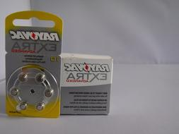 Rayovac EXTRA Advanced Hearing Aid Batteries SIZE 10, 60 COU