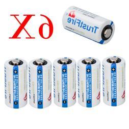 6x Batteries Flashlight 85177 CR123A 3 Volt Lithium Batterie