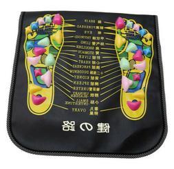 Foot Massager Mat Reflexology Walk Stone Pain Relieve Mat He