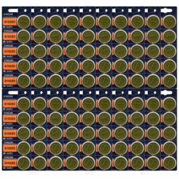 **FRESH NEW** 100 SONY CR2016 Lithium Battery 3V Exp 2025 Pa