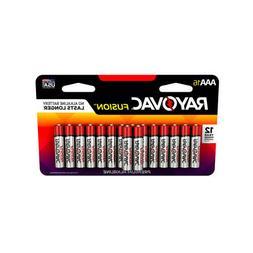 Rayovac  Fusion  AAA  Alkaline  Batteries  16 pk Carded