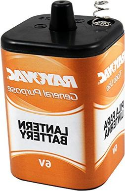 Rayovac 6V General Purpose Lantern Battery, 1.195 Pound