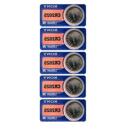 Great value CR2025 Sony 3 Volt Lithium Coin Cell Batteries,