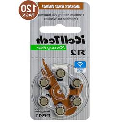 iCellTech Size 312 PR41 P312 Zinc Air MF Hearing Aid Batteri