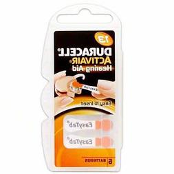 Duracell Hearing Aid Batteries Size 13 Pack 60 Batteries 1.4