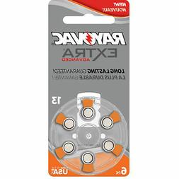 Rayovac Extra Advanced, Hearing Aid Batteries Size 13