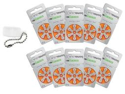 Powerone  Hearing Aid Batteries Size 13 Pack of 60 + FREE Ba