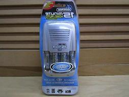 RAYOVAC IC3 15 Minute PS6 Battery CHARGER with 2 AAA & 2 AA