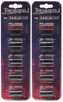 10 4LR44 6V Alkaline Batteries for Dog Shock/Training Collar