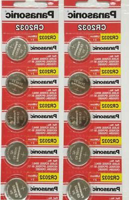 10 cr2032 2032 3v lithium coin battery