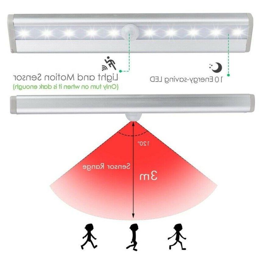 10 Sensor Night Cabinet Powered Strip