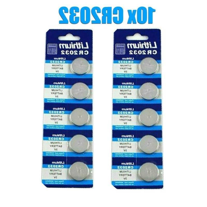Wholesale 10PCS Li-ion 3V CR2032 DL2032 ECR2032 5004LC 3Volt