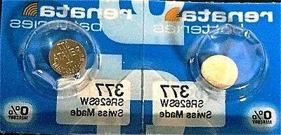 10 watch batteries 377