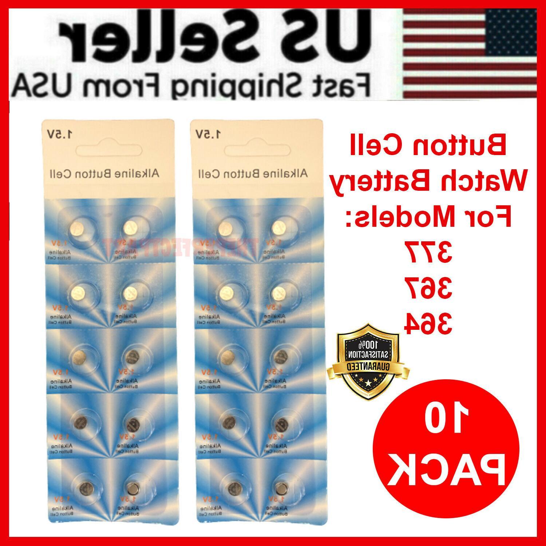 10 x OEM SPEC 377 376 364 363 WATCH BATTERY SR626SW SR626W S