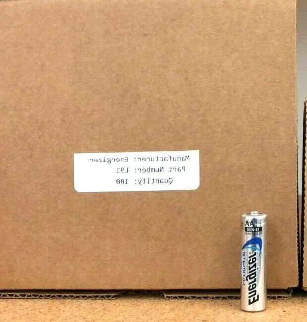 100 Brand New Batteries
