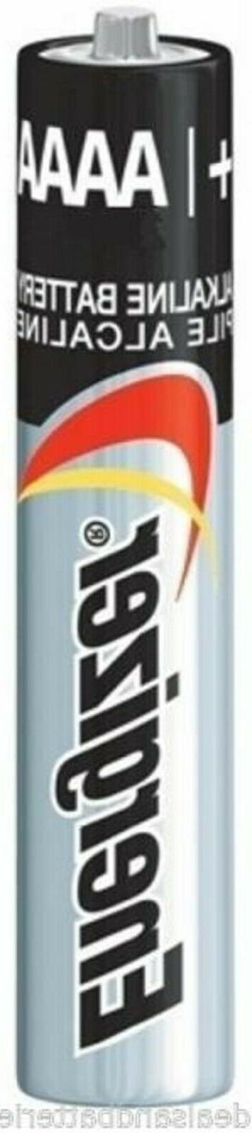 100-Pack AAAA Energizer Alkaline Batteries  EXP.12/2023