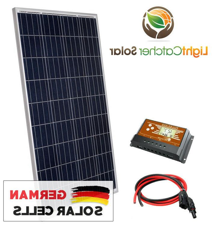 100 watt solar panel kit rv kit