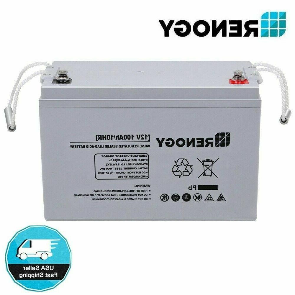 100ah 200ah 12v deep cycle agm rechargeable
