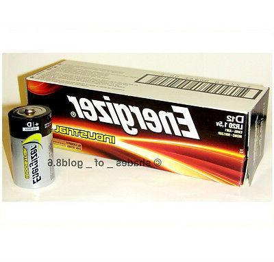 12 industrial d alkaline batteries en95 lr20