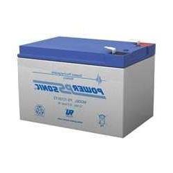 Power-Sonic 12V 12Ah F2 SLA Sealed Lead Acid UPS Battery for
