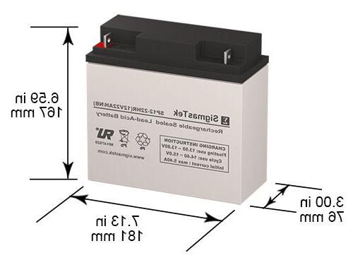 Bright Way Group BW 12220 NB Replacement Battery by SigmasTe