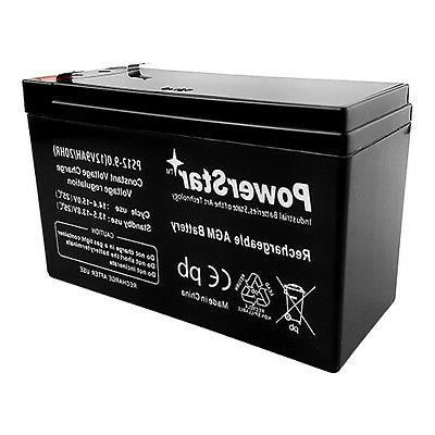 PowerStar 9AH Battery For 12V 7Ah Scooter Bike Haijiu 6-DFM-