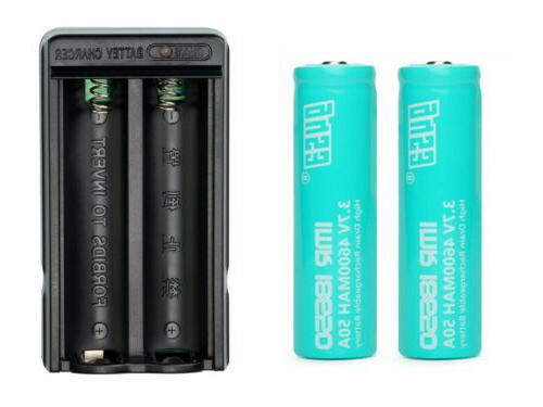 18650 G4S3 Battery Li-ion Rechargeable LED Lot
