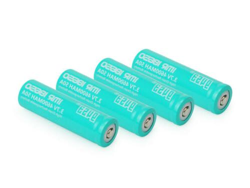 Li-ion 3.7V LED Flashlight