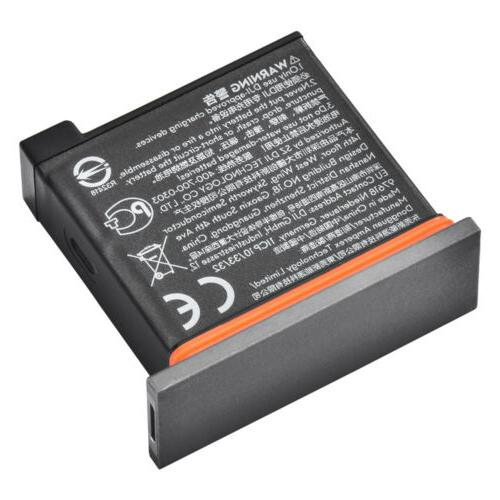 1pc/2pcs Battery Case DJI ACTION Camera Accessories