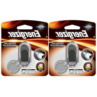2 Pack Energizer - LED Key Chain Light