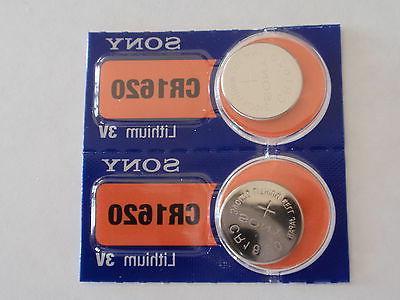 2 fresh lithium battery 3v cr1620 fast