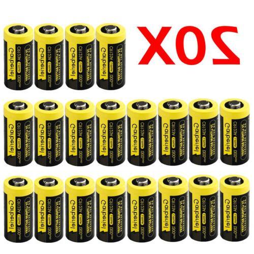 20x CR123 Garberiel 3V Lithium Batteries  US