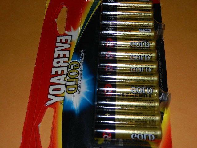 24 new Alkaline Batteries exp.