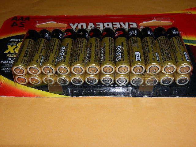 24 Alkaline Batteries exp. 2026