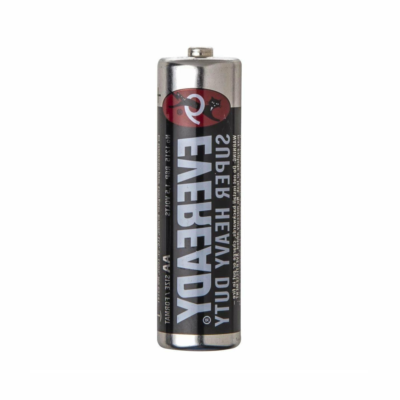 24 Energizer Eveready Super Industrial AA Batteries