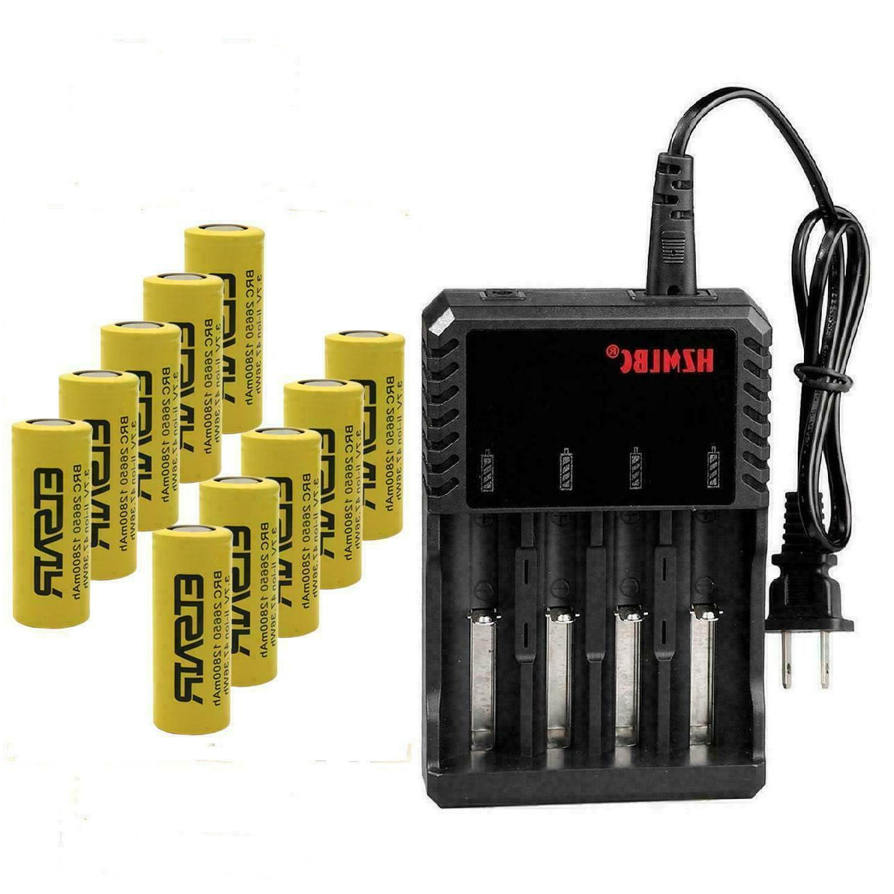 26650 Cell 4 Slot Charger