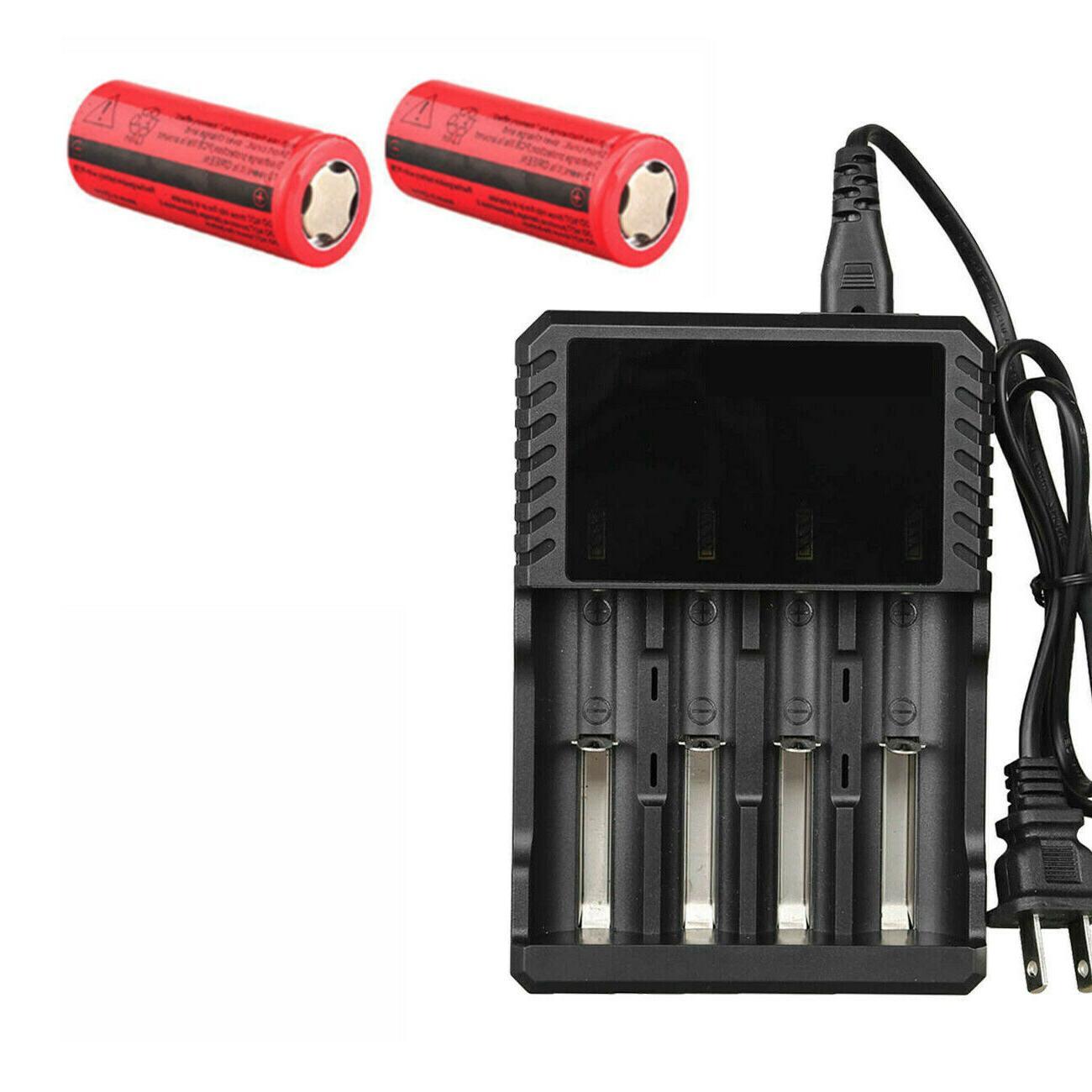 26650 3000mAh Flat Batteries