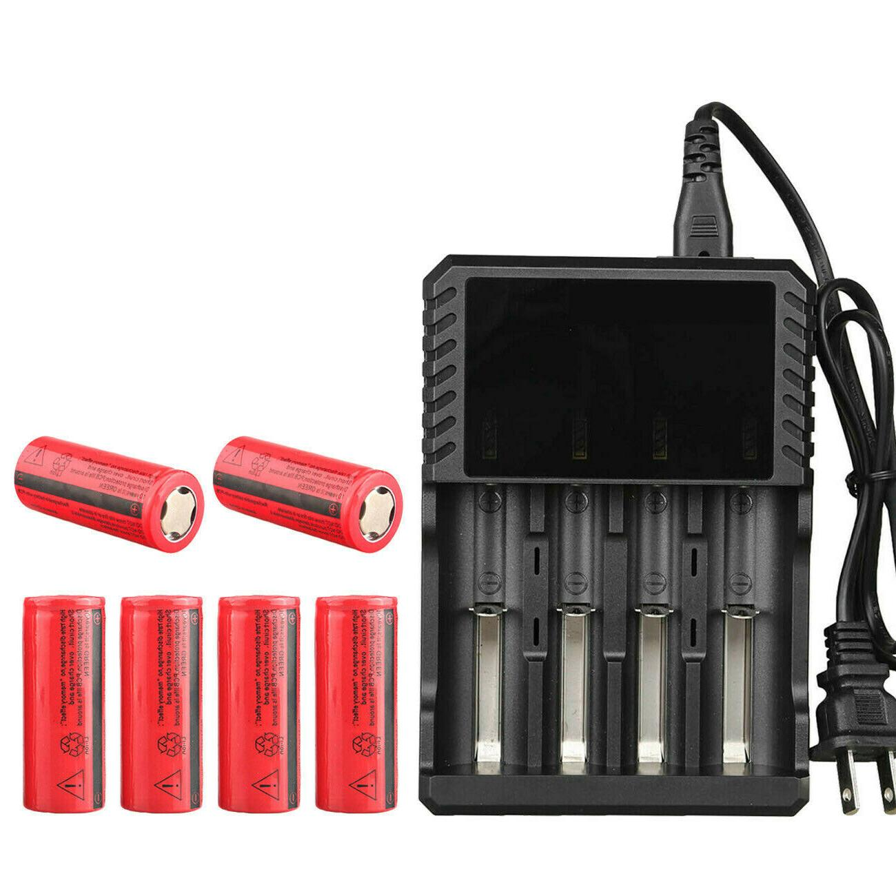 Flat Top Batteries For Torch Lot