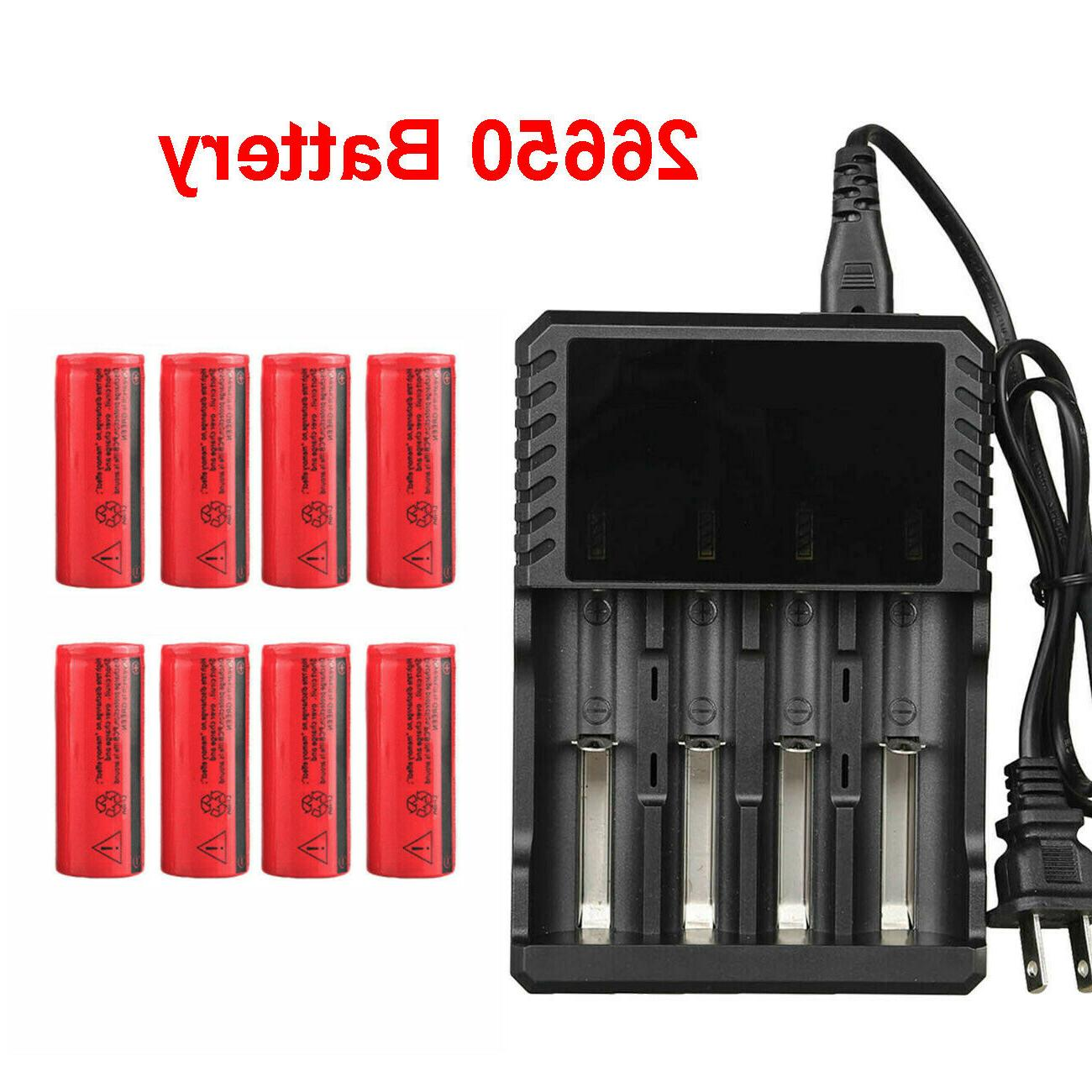 26650 battery 3000mah 3 7v flat top